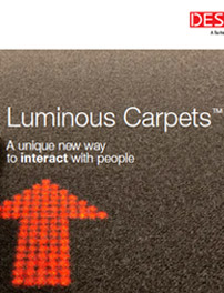 Folleto de Luminous Carpets