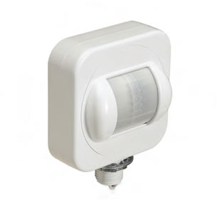 High Bay Aisle Occupancy Sensor with Rotating Lens